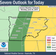 Storms, high winds and hail expected in Nashville Monday morning