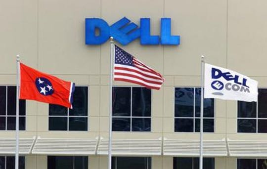 The front of the Nashville Dell Computer assembly plant on Murfreesboro Road in 2001