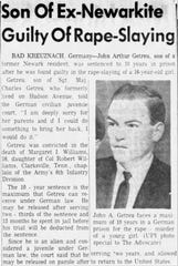 A story about John Getreu from The Advocate on June 30, 1964.