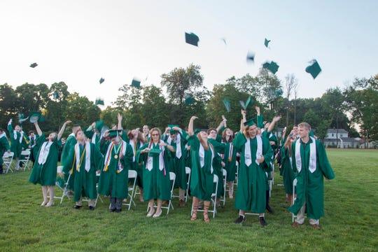 Midland Park High School's 2019 senior graduation celebration. 06/21/2019
