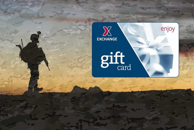 Celebrate July Fourth by sending an Exchange gift card to service members.
