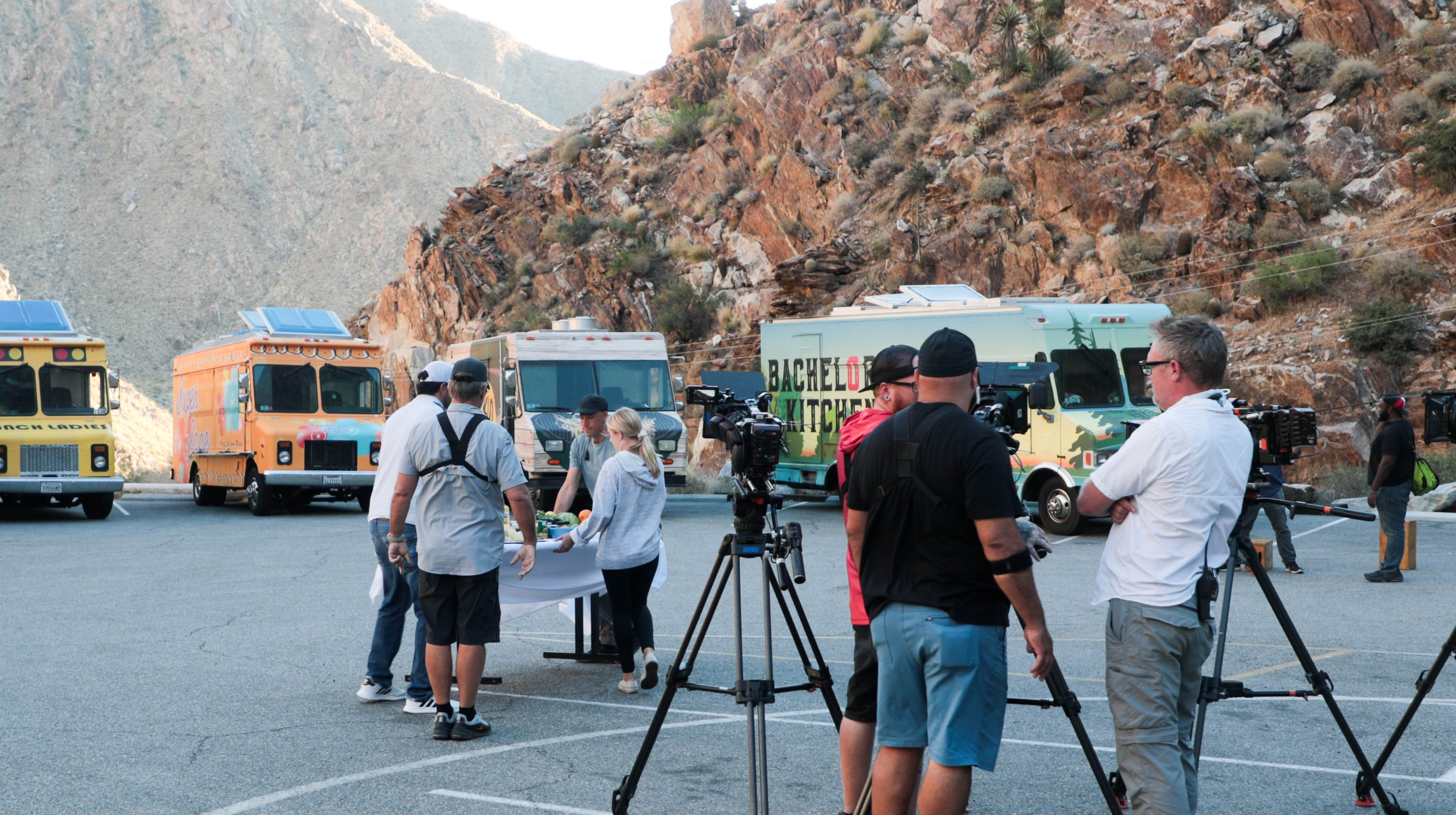 Behind the scenes of 'The Great Food Truck Race' in Palm Springs