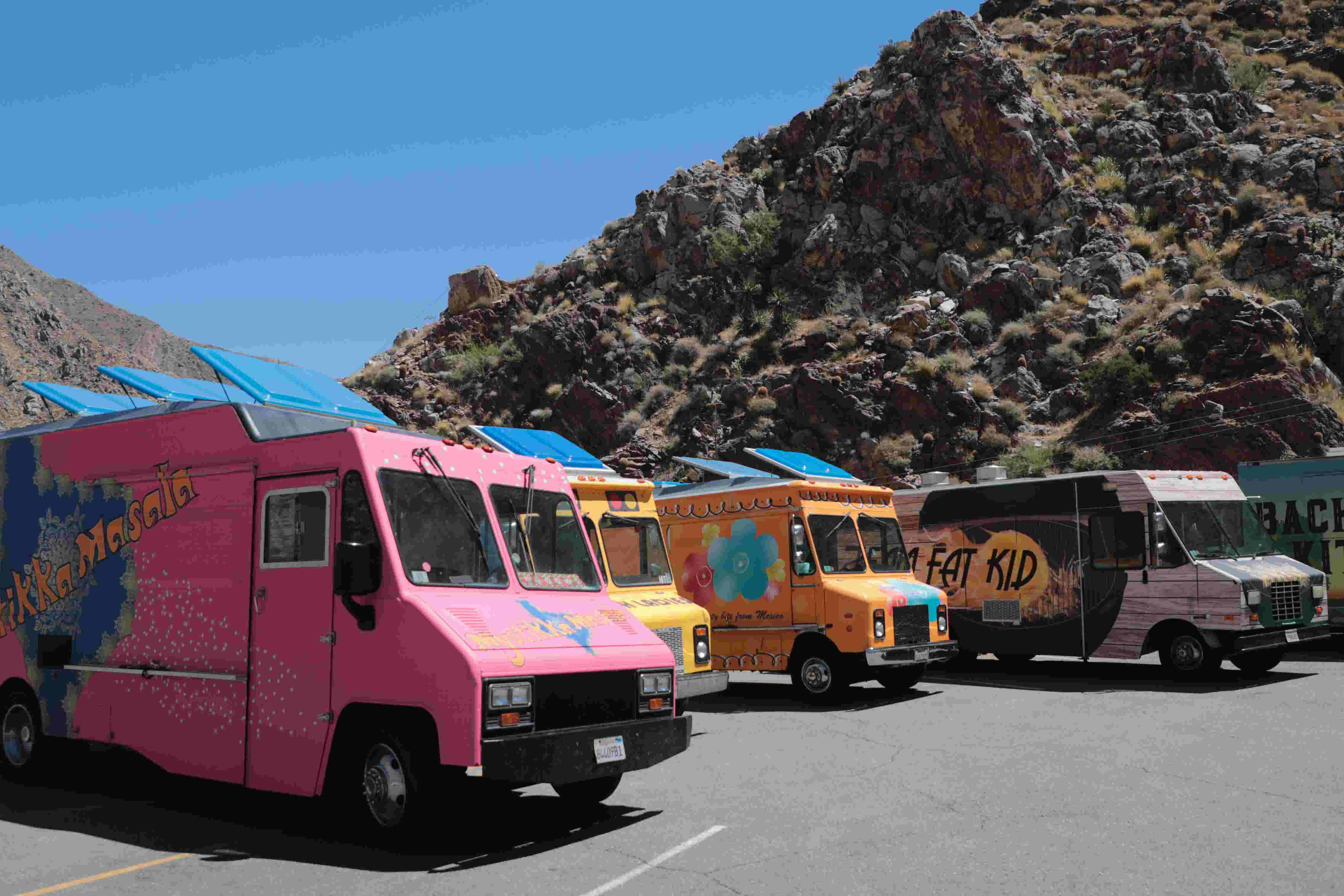 'Oh my God': 'The Great Food Truck Race' serves Palm Springs agave