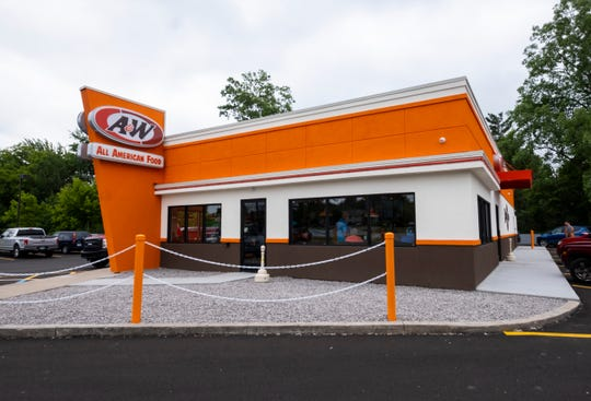 The A&W restaurant on Gratiot Avenue in Marysville opened Monday, June 24, 2019.
