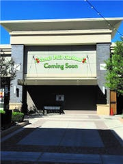 Great Full Gardens is debuting its first-ever Sparks location, in the Outlets at Legends shopping center. Planned opening date is October 2019. Here, a rendering of the sign on the actual future storefront.