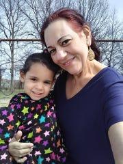 Zyvette Marquez-Rivera with her grandmother Venus Vega