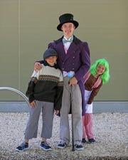 """The tale of little Charlie Bucket and his magical bid to become head of a chocolate factory comes to life in Axiom Repertory's children's theater production of """"Willy Wonka Jr."""" The musical opens at 7 p.m. Friday at the Cascade Theatre."""