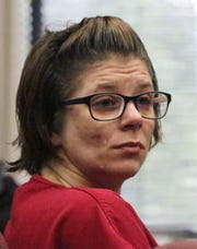 Jessica Marie Grande appears in Sheboygan County Circuit Court Branch 3, Monday, June 24, 2019, in Sheboygan, Wis.