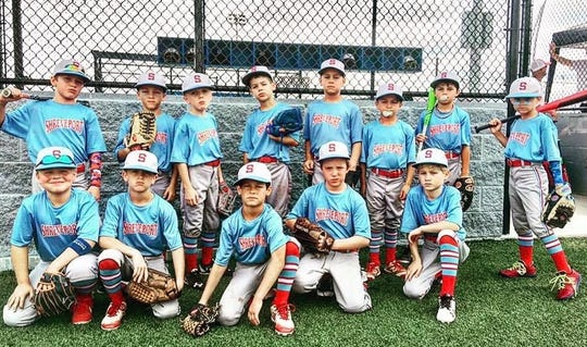 Shreveport's 7- to 8-year-old coach-pitch Little League state champions.