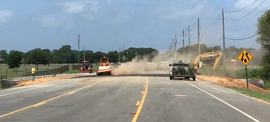 Kingston Road in Bossier is now open following a drainage improvement project.