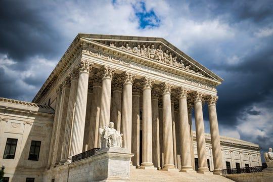 The US Supreme Court building in Washington, D.C.