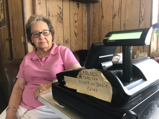 Darlene Collins, 78, has called the Epilepsy Foundation of Missouri & Kansas, the health and fire departments, the police and other agencies to try to get rid of a mess outside of Taylor's restaurant, which opened in 1947. She has owned it since 1978.