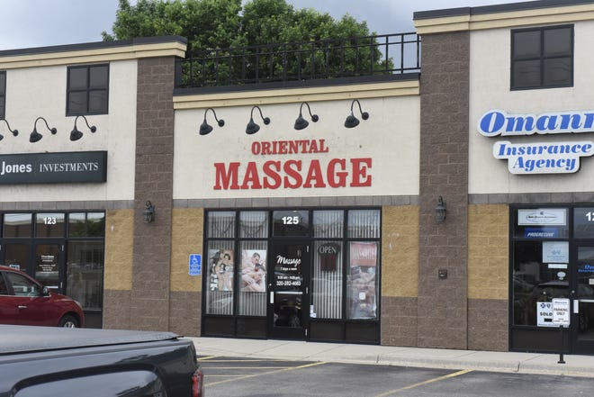 Oriental Massage, at 125 Waite Ave. N in Waite Park, is the site of alleged prostitution and human trafficking, according to the Central Minnesota Human Trafficking Task Force. The owner and her boyfriend were arrested on June 21, 2019.