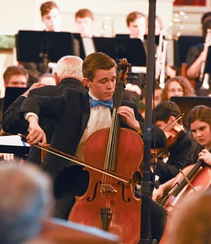 "Treasure Coast Youth Symphony 2019 Concerto Competition winner Brandon Gunter performs Lalo's ""Cello Concerto in D Minor"" with the orchestra."
