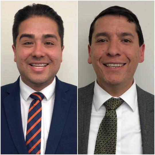 Josh Acevedo and Rene Vargas