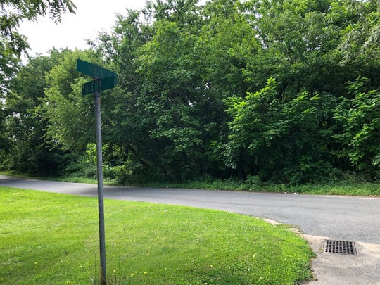 Orchard Street and Nixon Avenue in Bridgeton. Police say Mark Rugenus Sr. was found dead in a wooded area near the intersection Saturday morning.
