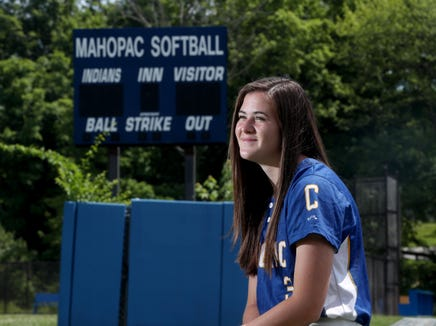 Shannon Becker of Mahopac, photographed June 24, 2019, is the Journal News/lohud Westchester-Putnam softball player of the year.