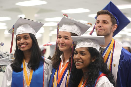 The Yonkers High School graduation was held at the Westchester County Center in White Plains June 24, 2019.