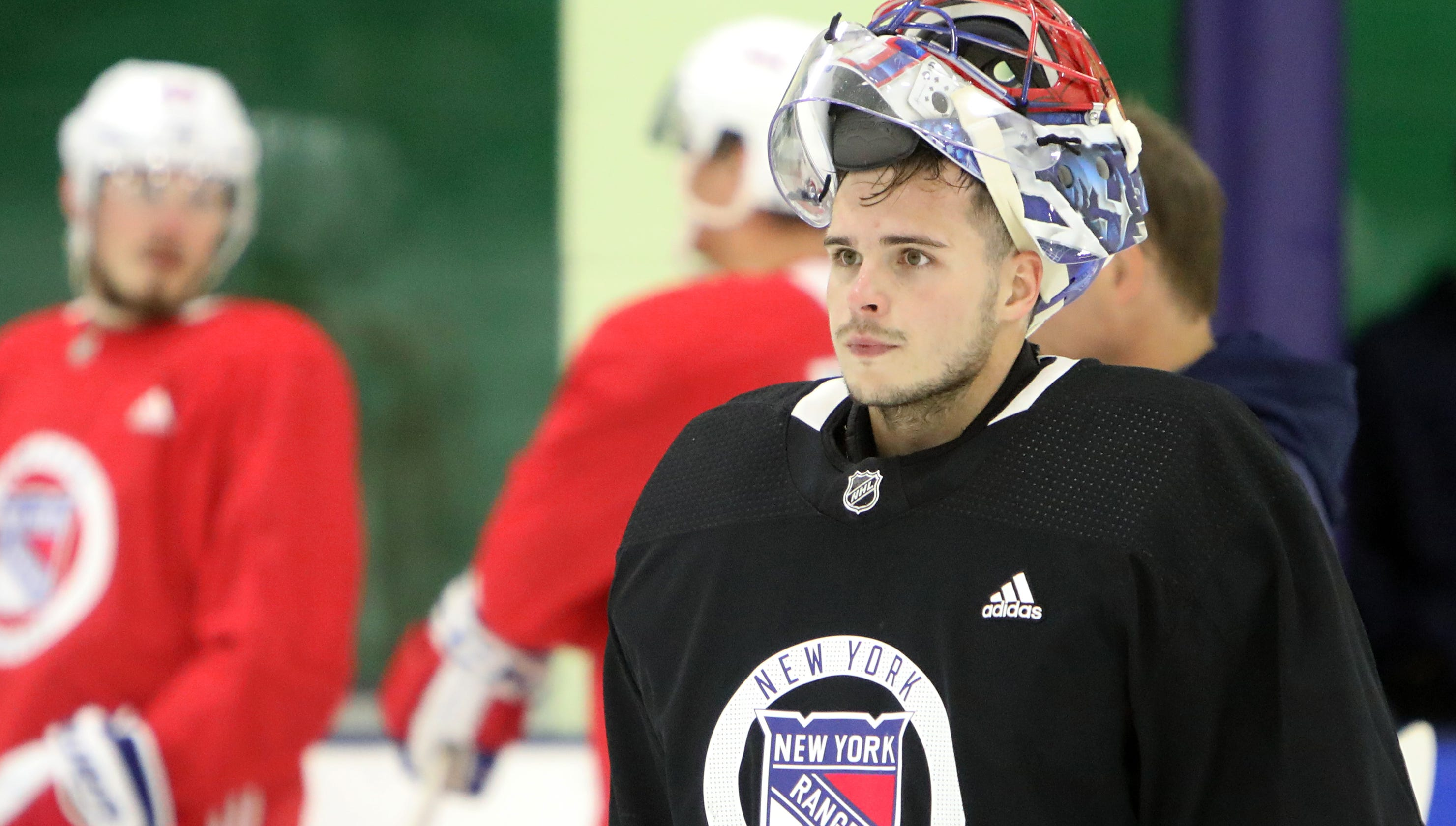 Ny Rangers Prospect Igor Shesterkin Shows Respect For Henrik Lundqvist