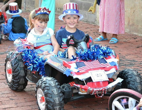 The Kell House Most Patriotic Parade will begin at 8:15 a.m. with registration at the corner of Eighth and Ohio. Put on your red, white and blue and follow the parade up Ninth Street and ending at the Kell House, 900 Bluff Street.