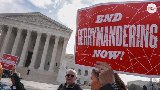 The U.S. Supreme Court has refused to get involved in gerrymandering by states that redraw district lines to benefit one political party.