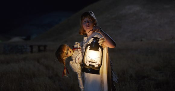 """Lulu Wilson stars as an orphan girl who learns that stuff goes bad when a certain doll is around in the 1950s-set """"Annabelle: Creation."""""""