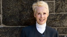 E. Jean Carroll, a New York-based advice columnist, claims Donald Trump sexually assaulted her in a dressing room at a Manhattan department store in the mid-1990s. Trump denies knowing her.