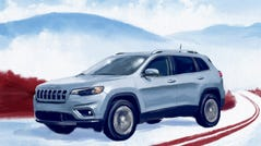 The Jeep Cherokee is tops on this year's Cars.com American-Made Index, which takes into consideration where a vehicle is built, where its parts come from and how many Americans are employed by its production.