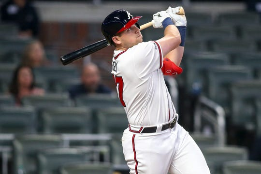 Austin Riley has flashed his power since reaching the majors.