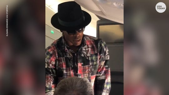 How ex-football player got video of Cam Newton's $1,500 offer to swap seats on Paris flight