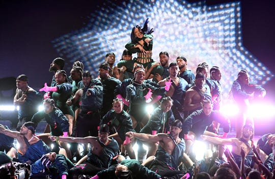 Cardi B and a stage full of dancers opened the BET Awards June 23.