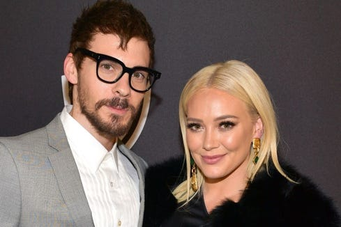 Hilary Duff was not impressed with her fiancé's unorthodox way of apologizing