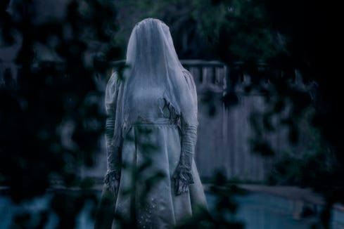 "Marisol Ramirez plays the malevolent title spirit of ""The Curse of La Llorona."""