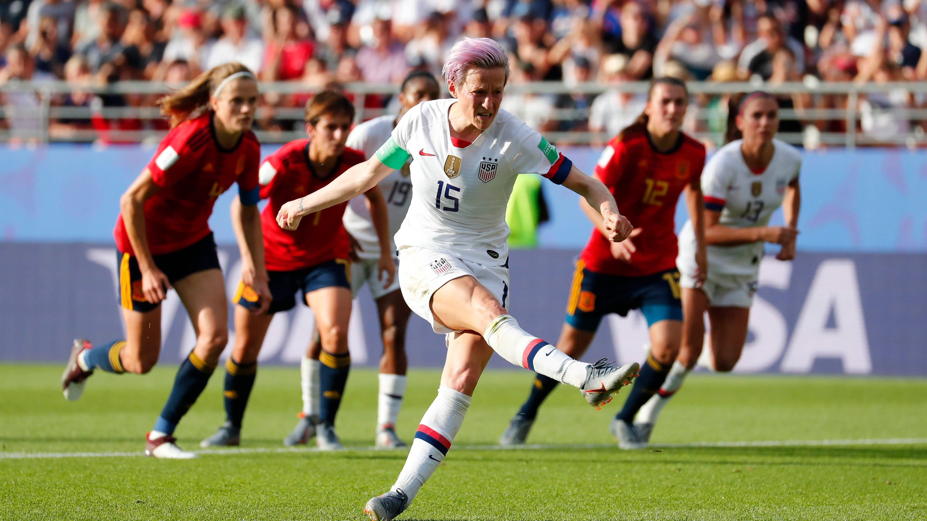 US women pass test vs. Spain they desperately needed in World Cup quest