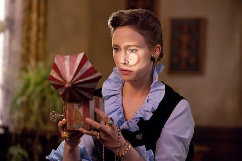 "Lorraine Warren (Vera Farmiga) investigates a freaky music box in director James Wan's ""The Conjuring."""