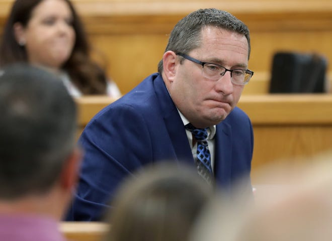 Judge Vincent Biskupic sentenced Jason LaVigne to five years in prison with 11 years of extended supervision on Tuesday. LaVigne, a former Little Chute High School teacher, was convicted in late April of sexually assaulting a student nearly two decades ago.