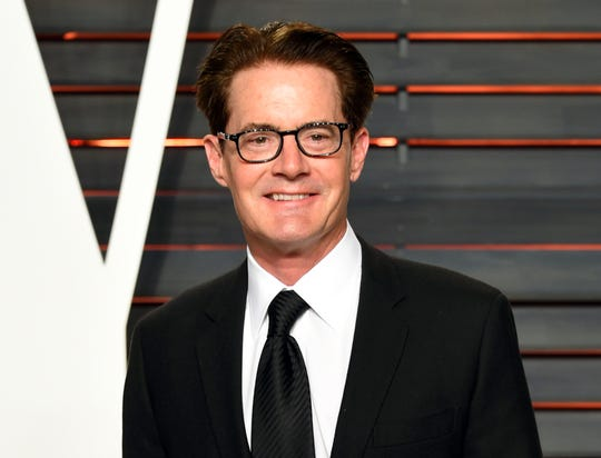 In this Feb. 28, 2016 file photo, actor Kyle MacLachlan arrives at the Vanity Fair Oscar Party in Beverly Hills, Calif.