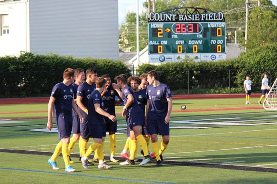 FC Monmouth played FC Motown on Saturday, June 22, 2019 at Count Basie Field, Red Bank