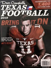 2019 edition of Texas Football magazine has Jayton at No. 1 over Strawn in six-man football.