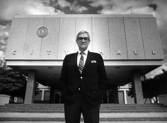 The Hall in Perry Hunter Hall was late Abilene mayor Elbert E. Hall, who served in the early 1980s.