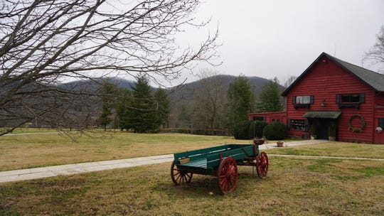 The Red Barn is one of the iconic features at Pisgah View Ranch, a 1,600-acre ranch in Haywood and Buncombe counties that was authorized July 19, 2019, as North Carolina's newest state park.