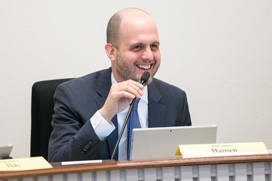 State Rep. Drew Hansen, D-Bainbridge Island