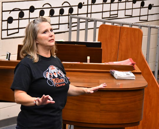 Choir director Dr. Misty Martinez, who has an operatic background, leads the students. The Cocoa High School chorus is busy this summer doing three-a-week rehearsals and  fund raisers to raise money for a trip to New York. The chorus was invited to perform at Carnegie Hall in October for the 2019 Fall Sings; Remembering 911. The students need to raise $85,000 for the trip.