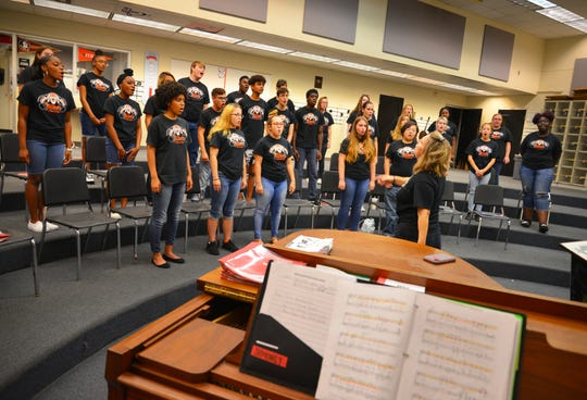 The Cocoa High School chorus is busy this summer doing three-a-week rehearsals and  fund raisers to raise money for a trip to New York. The chorus was invited to perform at Carnegie Hall in October for the 2019 Fall Sings; Remembering 911. The students need to raise $85,000 for the trip.