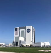 The VAB center located in the epicenter of KFC, directly across from the press block buildings.