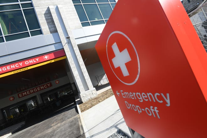 The emergency room at the University of Vermont Medical Center.