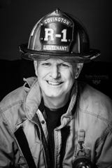 Retired Covington firefighter Dale Brown , 55, died from melanoma cancer.