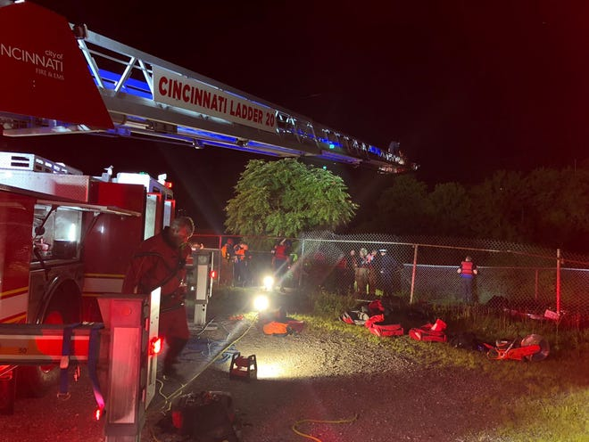 One person has died after a car crashed into the Mill Creek on Monday night.