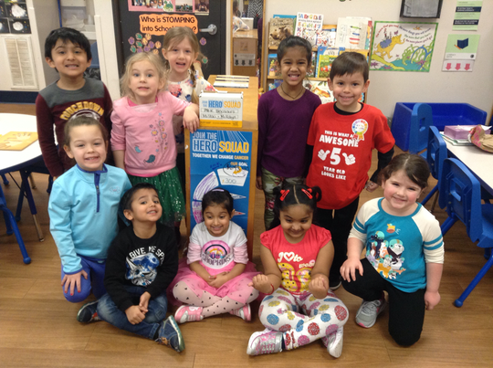 As a result of 15 years of outstanding contributions to The Leukemia and Lymphoma Society's Student Series campaign, the Goddard School in Piscataway has been awarded the Crusader for the Cure Award. Preschoolers participated in two fundraisers a year to raise money for the organization.