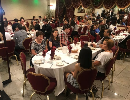 Families and special guests gathered at III Amici Ristorante in Linden on June 12 to celebrate the 17 graduates of the Linden High School Entrepreneurial Management Achievement Program.